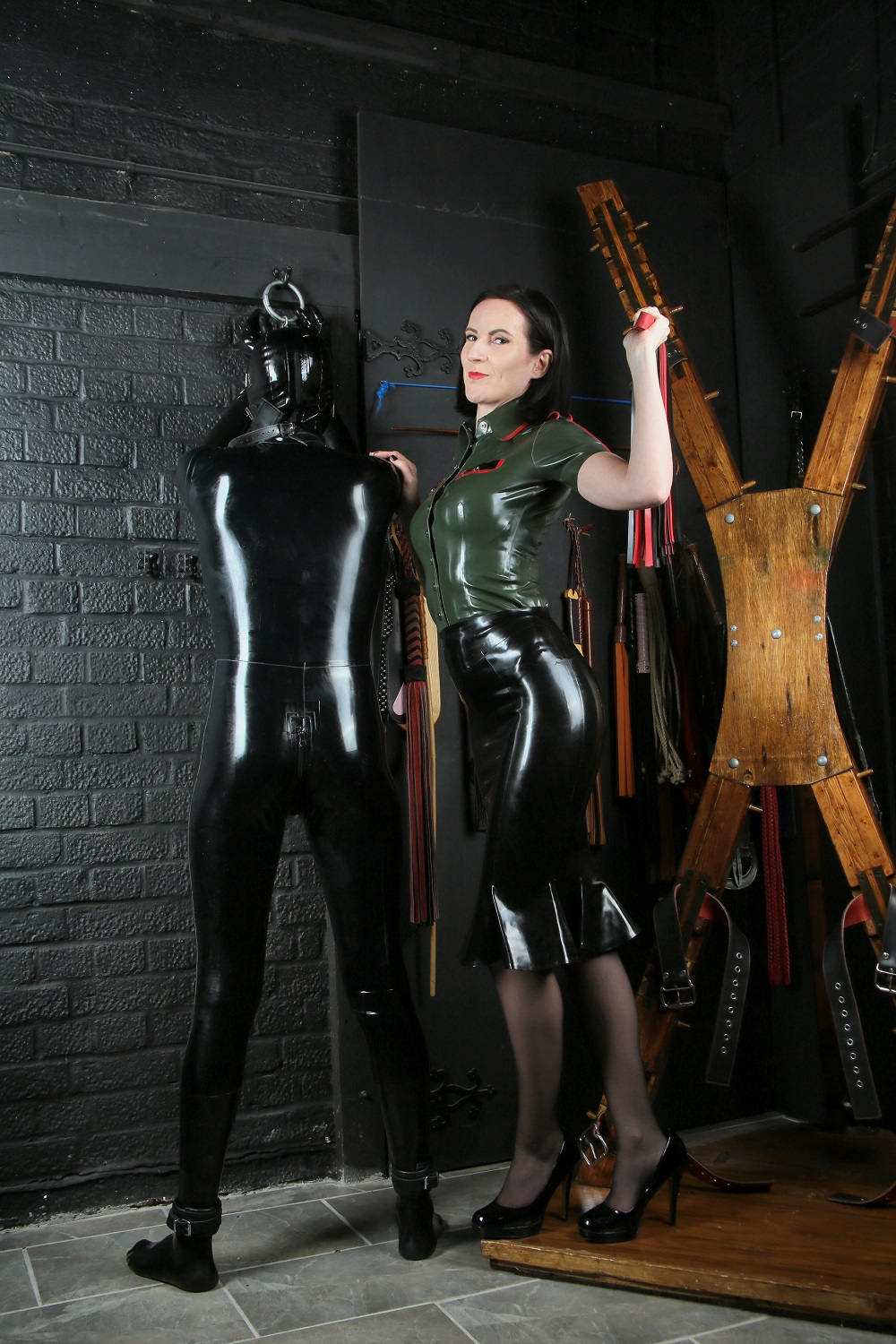 The costume party cuckhold femdom story
